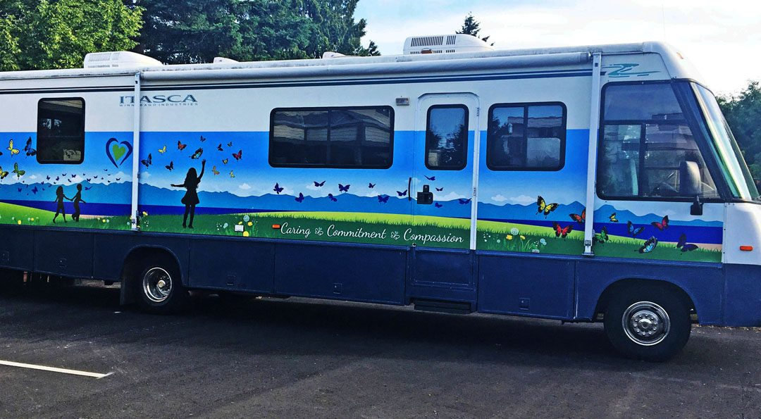 Nanaimo Hospice RV Wrap Completed